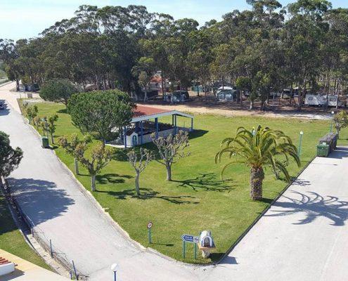 mapa-park camping Serrão